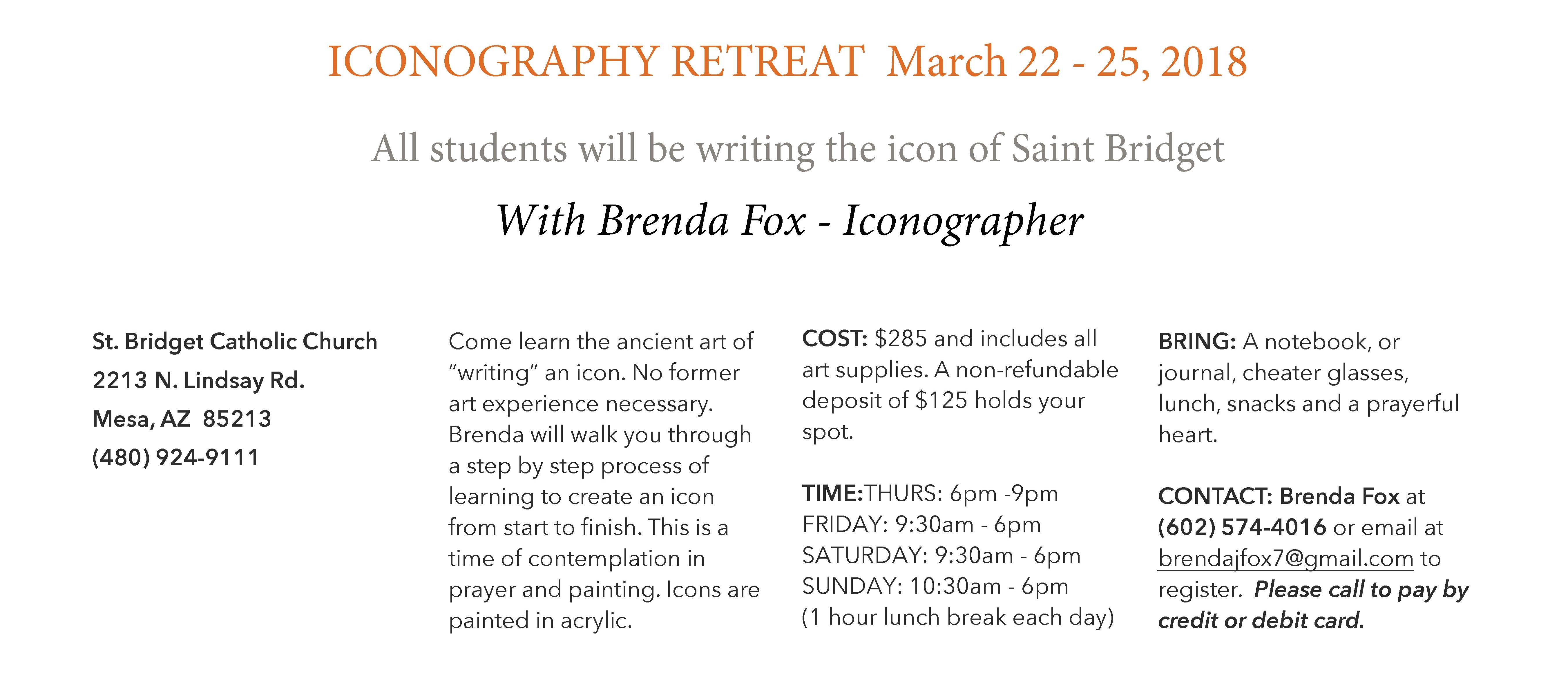 Icon Retreat.StBridget.Mesa.2018.pages